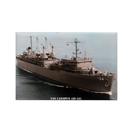 USS CANOPUS Rectangle Magnet