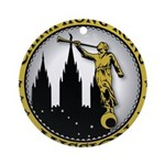 China Hong Kong LDS Mission C Ornament (Round)