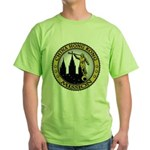 China Hong Kong LDS Mission C Green T-Shirt