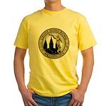 China Hong Kong LDS Mission C Yellow T-Shirt