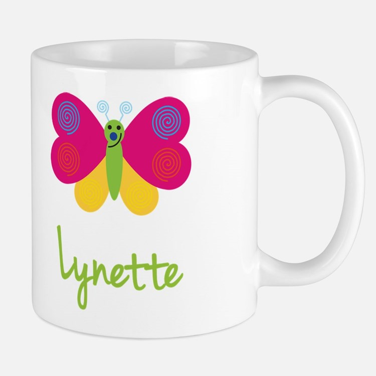 Lynette The Butterfly Mug