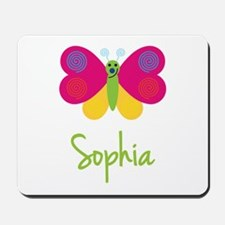 Sophia The Butterfly Mousepad