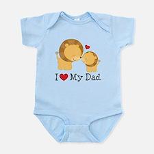 I Heart My Dad Infant Bodysuit