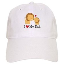 I Heart My Dad Baseball Cap