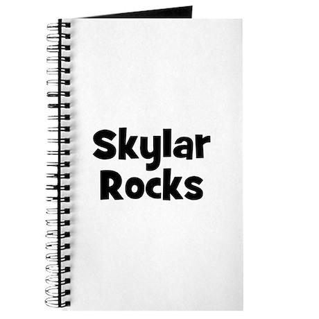 Skylar Rocks Journal