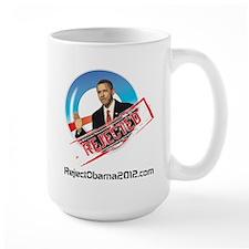 Reject Obama 2012 Mug