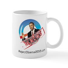 Reject Obama 2012 Small Mug