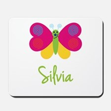 Silvia The Butterfly Mousepad