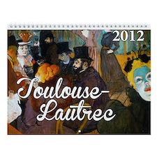 Toulouse-Lautrec Wall Calendar