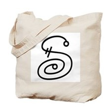 Whimsy letter S Tote Bag