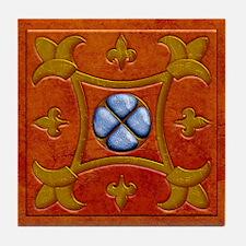 Harvest Moon's Roman Tile Coaster