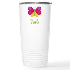 Darla The Butterfly Travel Mug
