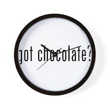 Got Chocolate? Wall Clock