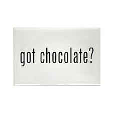 Got Chocolate? Rectangle Magnet