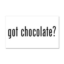 Got Chocolate? Car Magnet 20 x 12