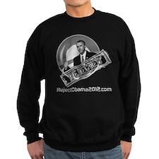 Reject Obama 2012 Men's Sweatshirt