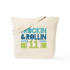 11th Anniversary Rock N Roll Tote Bag