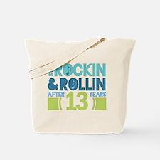 13th Anniversary Rock N Roll Tote Bag