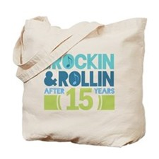 15th Anniversary Rock N Roll Tote Bag