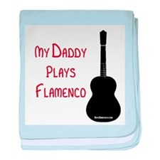 My Daddy Plays... baby blanket