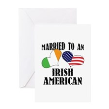 Married Irish American Greeting Card