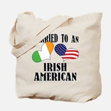 Married Irish American Tote Bag