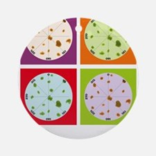 TOrigami multi-colors Ornament (Round)