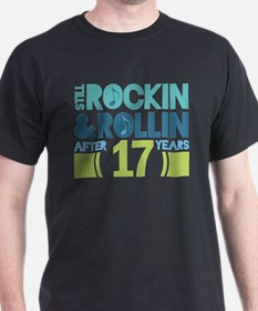 17th Anniversary Rock N Roll T-Shirt