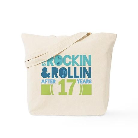 17th Anniversary Rock N Roll Tote Bag