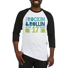 17th Anniversary Rock N Roll Baseball Jersey
