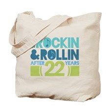 22nd Anniversary Rock N Roll Tote Bag