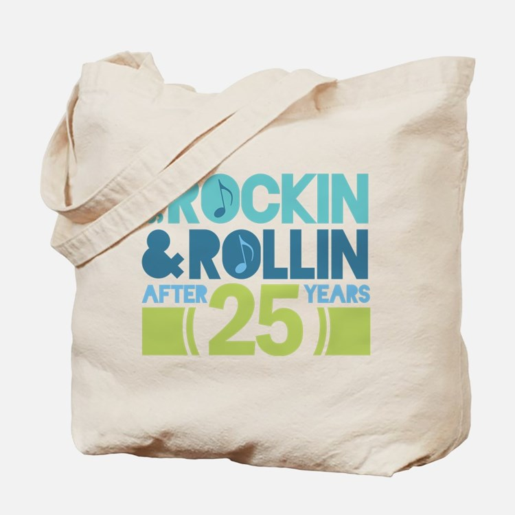 25th Anniversary Rock N Roll Tote Bag