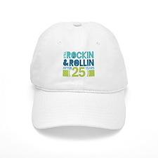 25th Anniversary Rock N Roll Baseball Cap