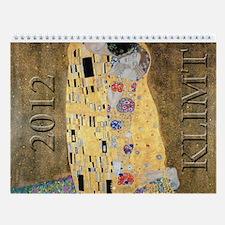 Gustav Klimt Wall Calendar