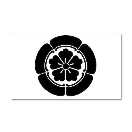 Oda Mokkou(B) Car Magnet 20 x 12