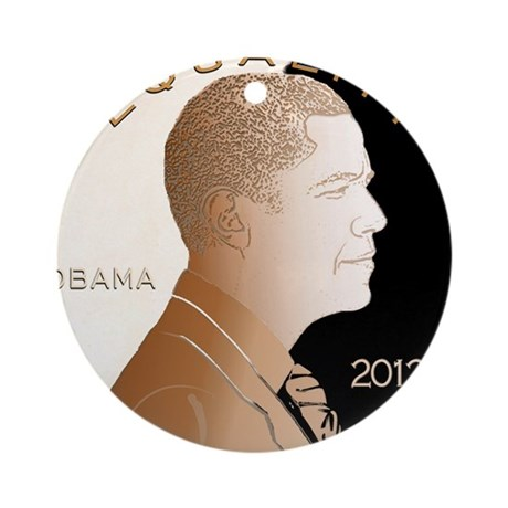Equality Penny Ornament (Round)