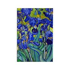 Van Gogh - Irises 1889 Rectangle Magnet