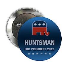 """Jon Huntsman For President 2.25"""" Button"""
