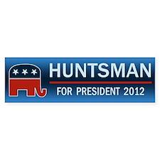 Jon Huntsman For President Bumper Sticker