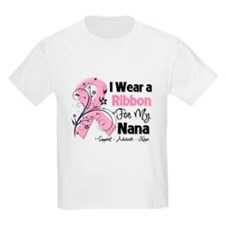 Nana Ribbon Breast Cancer T-Shirt