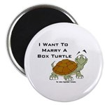 Marry a Box Turtle Cornyn Magnet