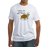 Marry a Box Turtle Cornyn Fitted T-Shirt