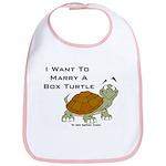 Marry a Box Turtle Cornyn Bib