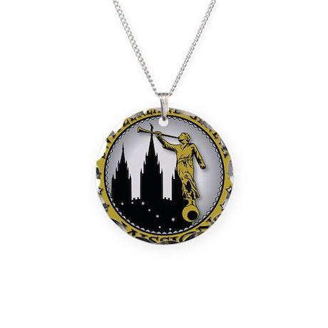 Switzerland Geneva LDS Missio Necklace Circle Char