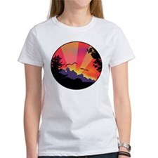 Sunset Dragons Tee