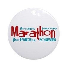 Marathon- The Pride is Forever Ornament (Round)