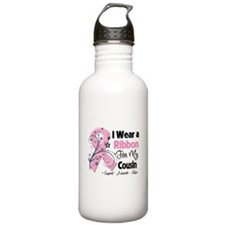 Cousin Breast Cancer Water Bottle