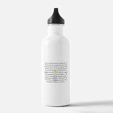 Story Art Water Bottle
