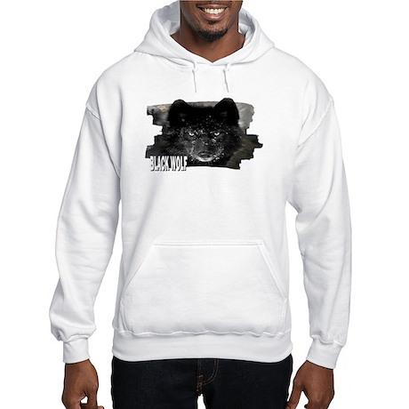 black wolf Hooded Sweatshirt