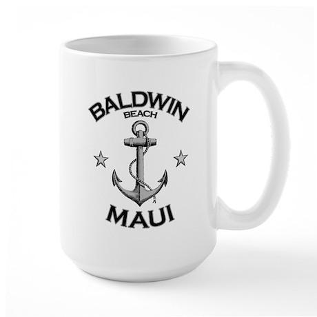 Baldwin Beach, Maui Large Mug